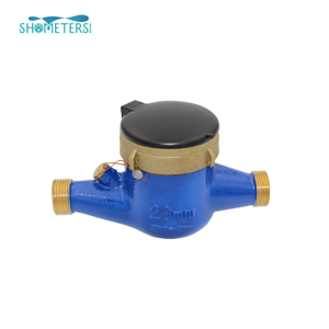 DN20 3/4 Inch Brass Body Multi Jet Water Meters