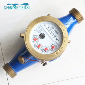 dry type multi jet water meter