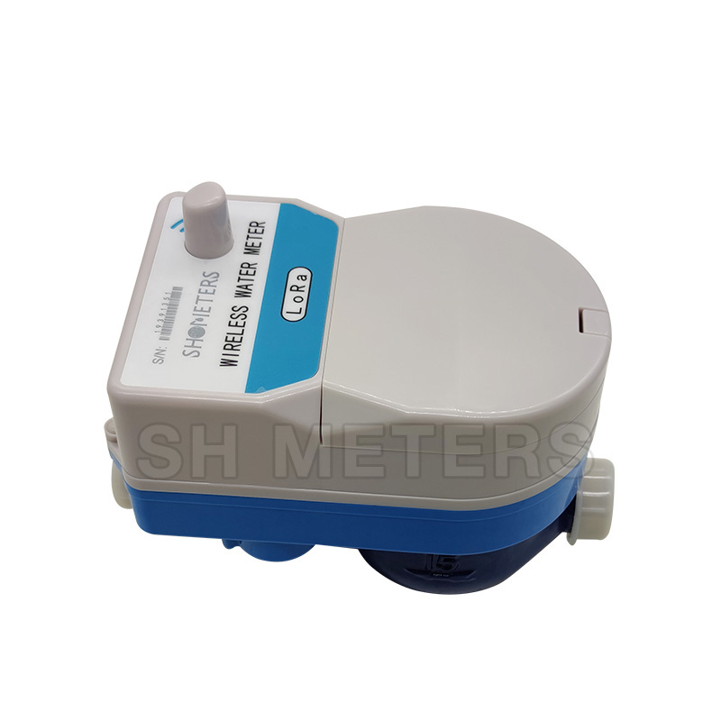 remote monitoring interfaced with cloud lora water meter