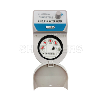 centralized monitoring system lora smart water meter
