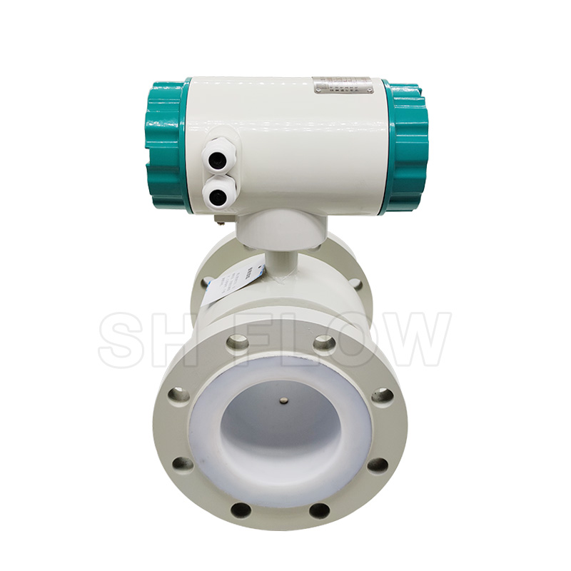 rs 485 low price liquid electromagnetic flowmeter with signal pulse output made in china