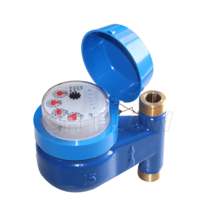 15-40mm brass Vertical multi jet water meter
