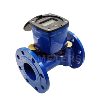 Bulk size Wireless remote ultrasonic water meter with bule tooth Series