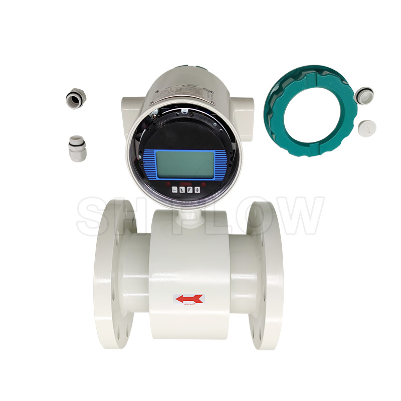 220v sewage digital electromagnetic flowmeter with display