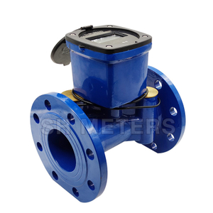 150mm iso4064 class b full liquid seal ductile iron cold water meter for south africa
