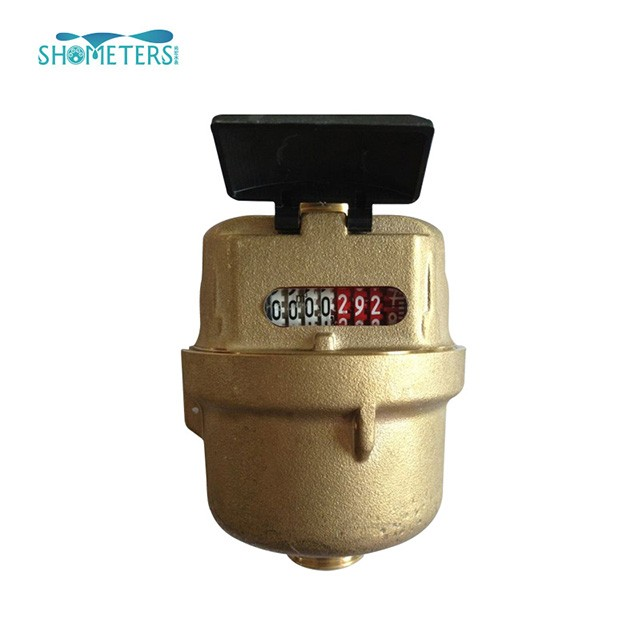 Plastic kent volumetric rotary piston water meter