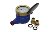 25mm cold pulse output dry dial multi-jet water meter
