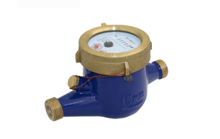 DN15~DN50 magnet stop threaded brass body water meter