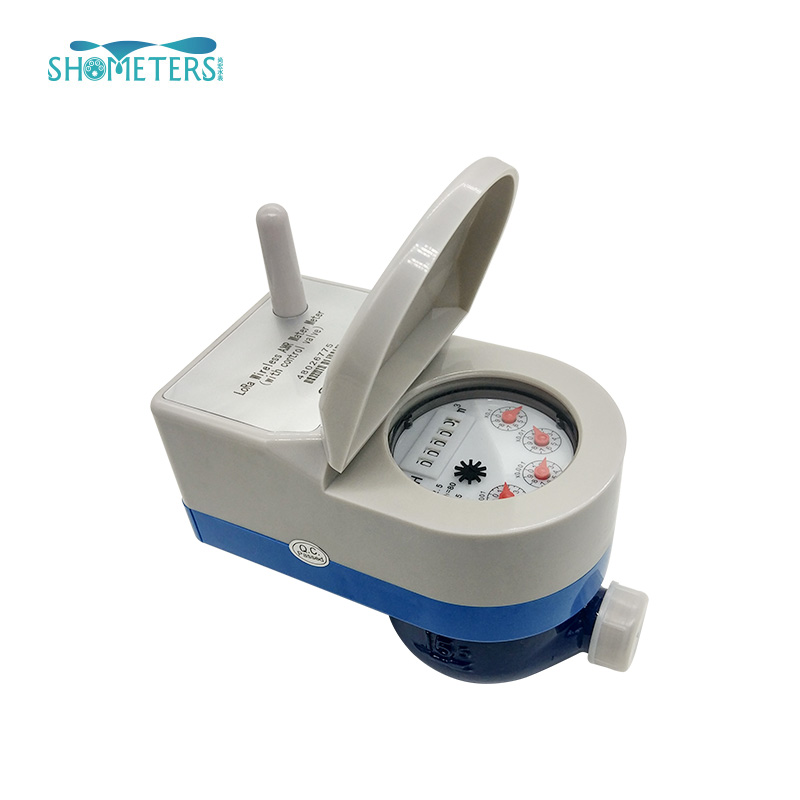 remote reading lora water meter